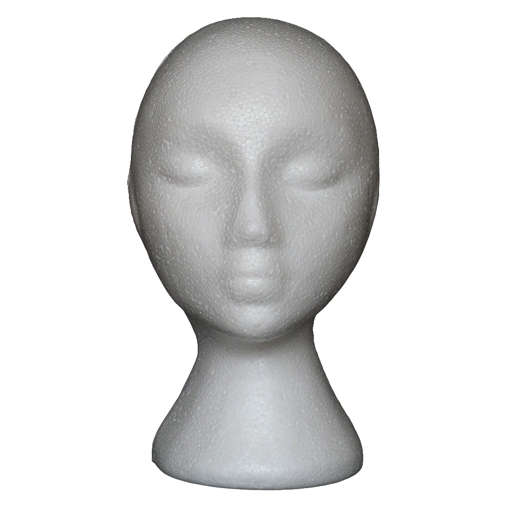 Abstract Foam Mannequin Head Manikin Head Model Wig Hair Glasses Display Stand wig head with stand wig holder manikin head tool