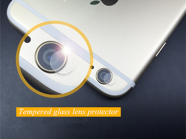 innovative design a081a 78384 US $4.49 |For iPhone 6 6s / Plus Tempered Glass Lens Protector Anti scratch  Camera Protective Film 2pcs/lot With retail package T01-in Phone Screen ...