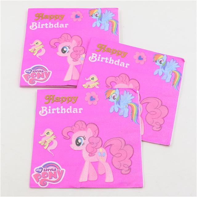 """My Little Pony"" Napkins"