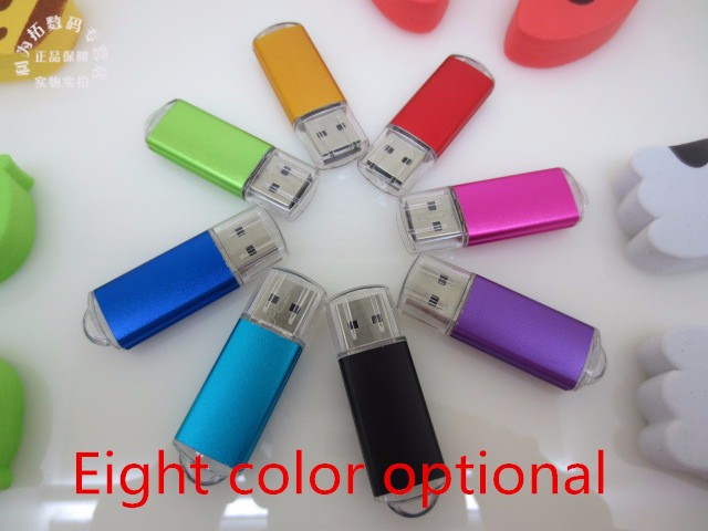 YXL Full Capacity USB Flash Drive Metal Pen Drive USB 64 Gb Pendrive 4g 8g 16g 32g 128g USB Memory Stick U Disk Free Shipping