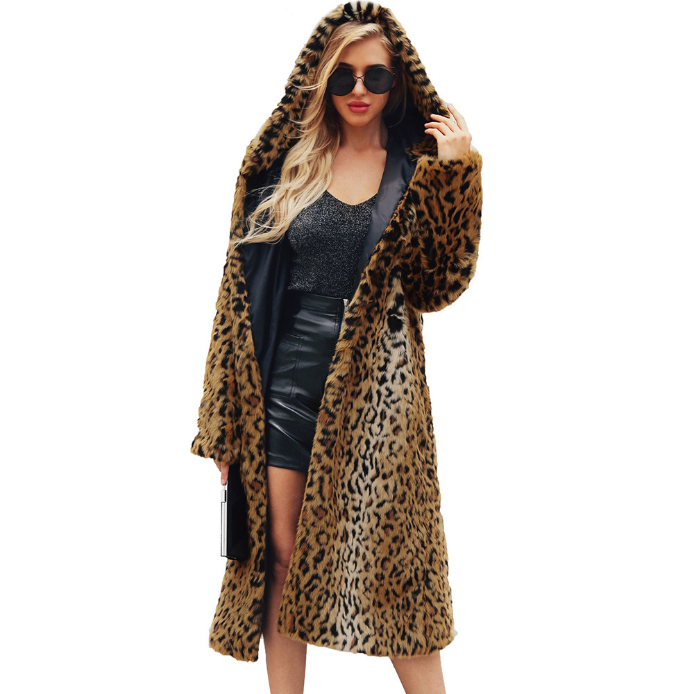 buy womens ladies warm faux fur coat. Black Bedroom Furniture Sets. Home Design Ideas