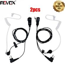 אוזניות דיבורית עבור אוזניות מוטורולה תואם עם מכשירי רדיו 2PCS
