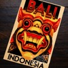 Garuda Indonesia Travel Retro Vintage Poster Decoration 1