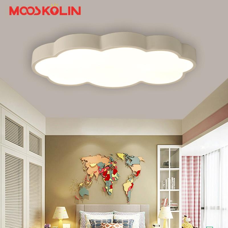 Nordic macaron lustre Clouds Modern Led Chandelier for Bedroom Children Room Kid Room Deco chandelier lighting led lamp fixtures