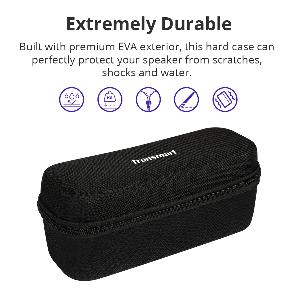 Tronsmart T6 Plus Bluetooth Speaker 40W Portable Speaker Deep Bass Soundbar with IPX6 Waterproof, Power Bank Function SoundPulse 33