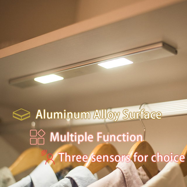 Night Light Potable LED Closet Lights Wall Lamp Battery Powered Wireless  Closet Leds Lamp With Magnetic