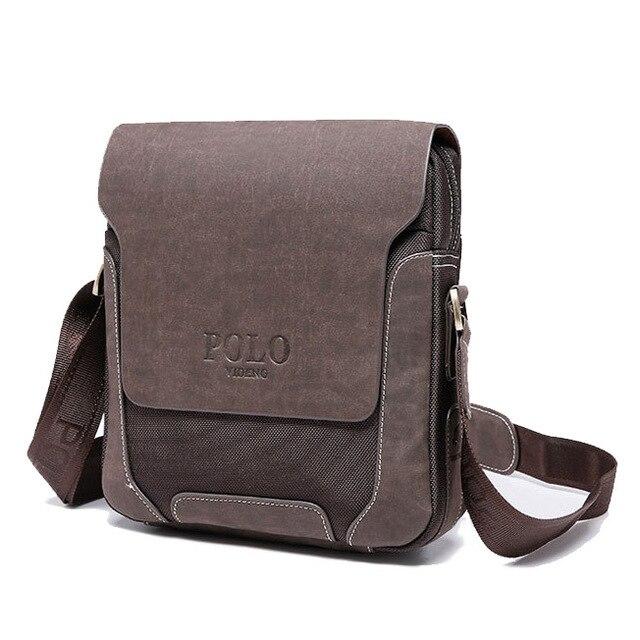 Sacos de Venda quente da moda homem lona de alta qualidade, marca de design saco de lona de lazer para homens, bolsa de couro mensageiro negócio do vintage