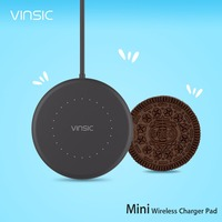 Vinsic Mini W14 Qi Wireless Charger Charging Pad For Samsung Galaxy S7 S6 Galaxy S7 S6