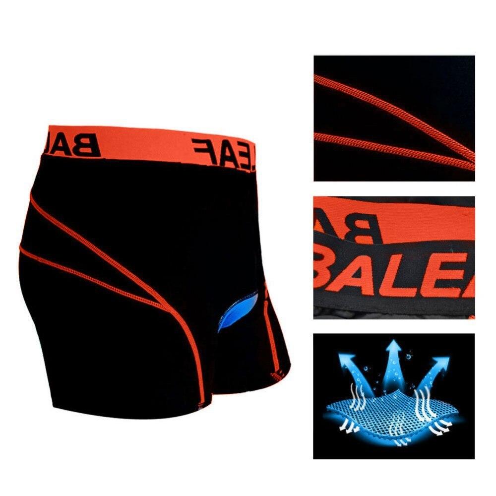 Baleaf Men/'s 3D Padded Bike Bicycle MTB Cycling Underwear Shorts Blue, M