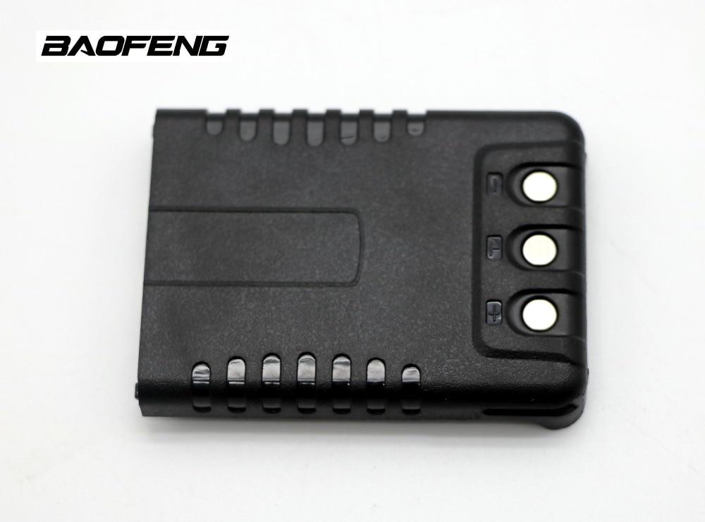Baofeng UV-3R Plus walkie talkie Batterie 3,7 V 1500 mAh Li-Ion Gescheut UV3R + Batterie für Pofung UV 3R + tragbare radio