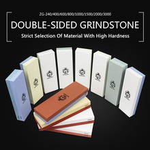 Diamond Kitchen Knife Sharpening Stone Professional GrindStone For All Knives White Corundum Green Silicon Carbide Whetstone
