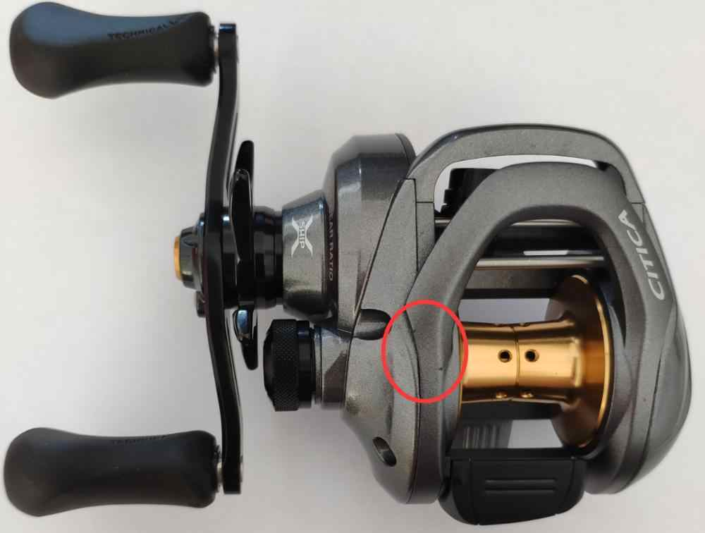 30528353e17 Shimano Citica 201HG LEFT HANDLE 7.2:1 Casting Reel low profile fishing reel  with little