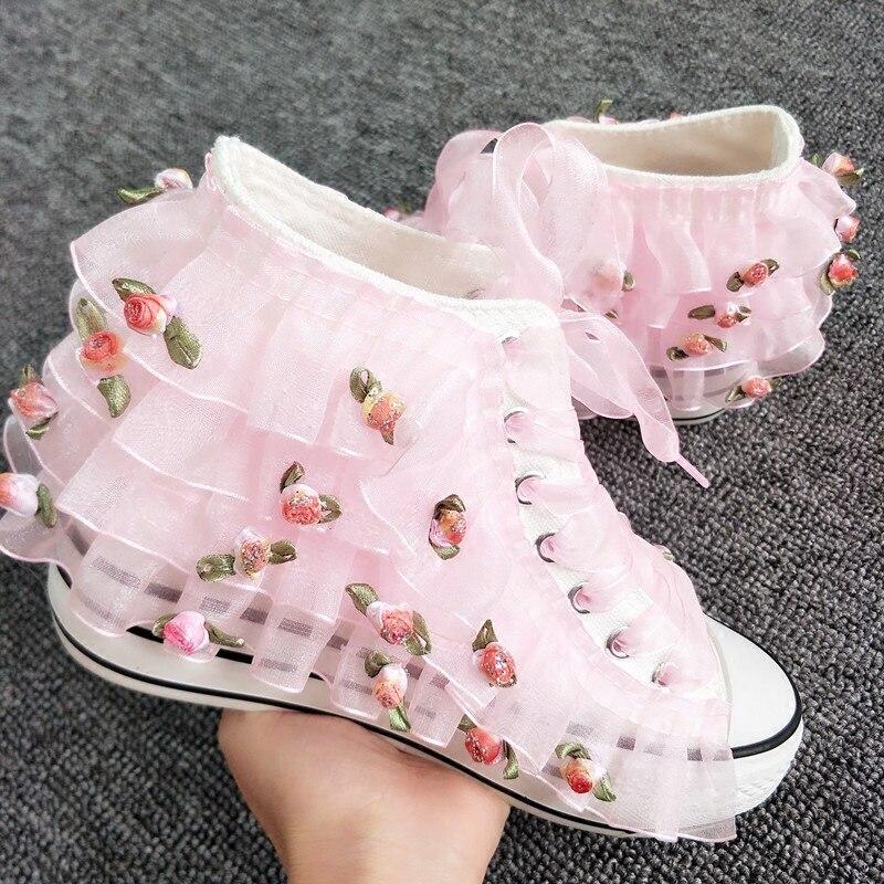 shoes fairies flat canvas shoes