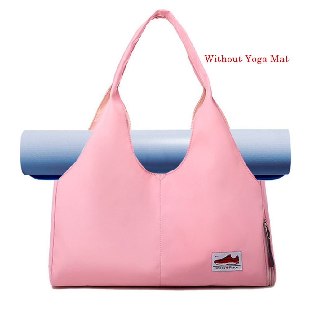 Yoga Mat Bag Fitness Gym Bags Sac De Sport For Women Men Glitter Sack Training Gymtas Mummy Sports Tas Bag