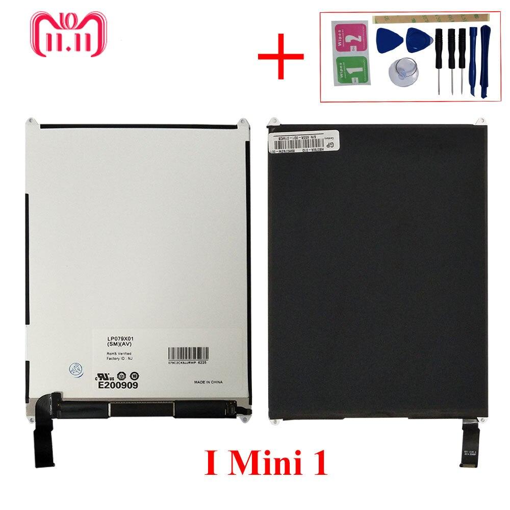 Pas de Dead Pixel 7.9 ''Tablet LCD pour ipad mini 1 1st A1455 A1454 A1432 Écran LCD Tactile écran Numériseur Assemblée Remplacer