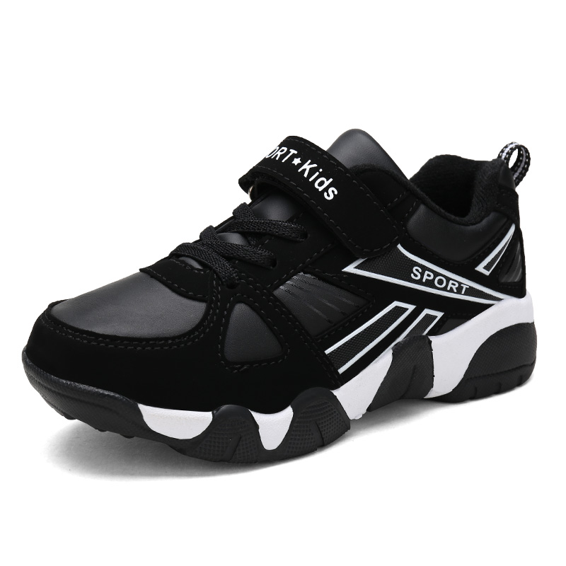 ULKNN Autumn Winter Children Sneakers Kids Shoes For Boys Sport Trainer Outdoor Leather Running School Shoes kinderschoenen