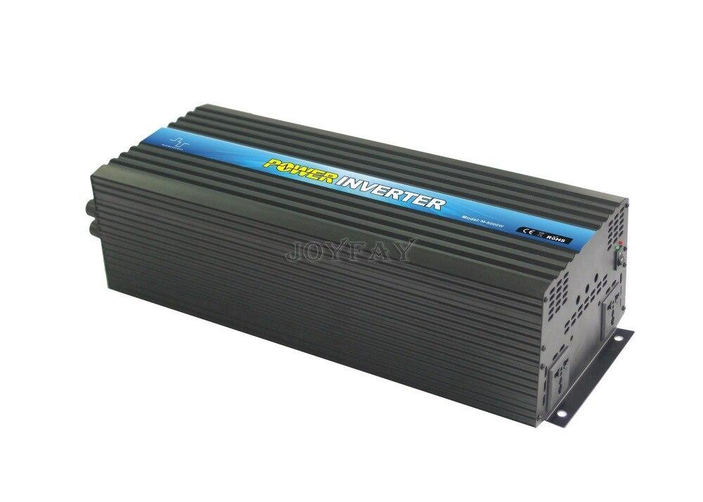 5000W Modified Sine Wave DC 48V to AC 110V Power Inverter 5000w dc 48v to ac 110v charger modified sine wave iverter ied digitai dispiay ce rohs china 5000 481g c ups