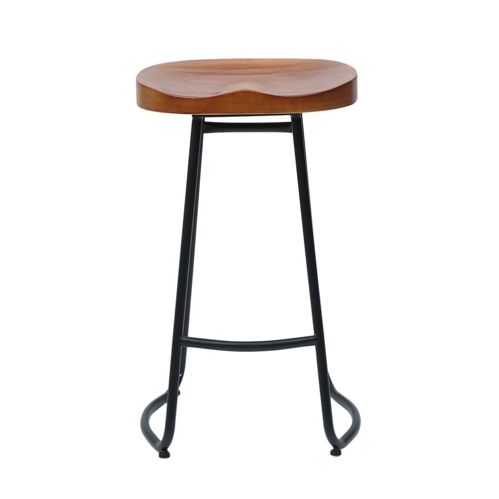 Pleasant Newest 70Cm Pub Bar Stool 2 Pcs Backless Barstool Vintage Ocoug Best Dining Table And Chair Ideas Images Ocougorg
