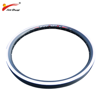 JS 16 20 24 26 700C Ebike Rim Electric Bike Wheel Rim with Aluminum Alloy 36H spokes Road Bicycles motor bicycle engine kit