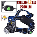 AloneFire HP88 CREE XM-L2 LED 3800Lumens Rechargeable led Head light LED Zoom Head lamp CREE For 2x18650 Battery