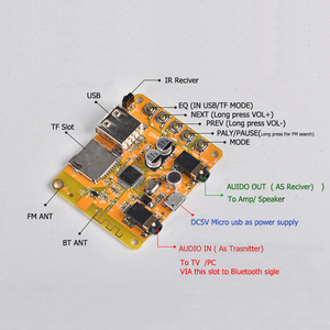 FM Bluetooth передатчик приемник модулятор Aux Bluetooth TV 4,2 автомобильный комплект громкой связи аудио mp3 плеер FLAC USB 3,5 мм Модуль AUX Интегральные схемы      АлиЭкспресс