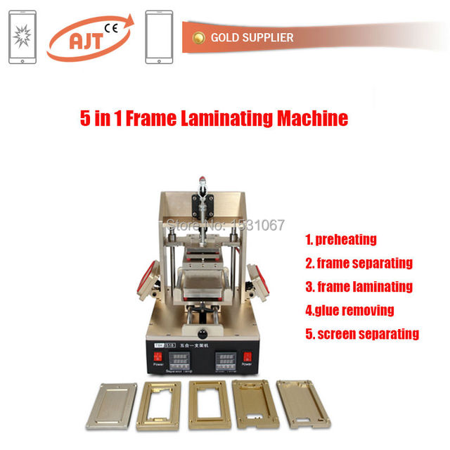 5in1 frame machine Include iPhone7 7+ mold frame Separator+Frame ...