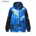 Hiawatha harajuku moda 3d hoodies mulheres manga comprida galaxy impresso camisola o-pescoço pullovers soltos com capuz hoody wy1051