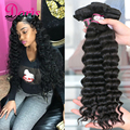 Mocha Hair Company Peruvian Loose Wave Peruvian Loose Curly Deep Wave 8A Unprocessed Human Hair 4 Bundles More Wavy Beach Wave