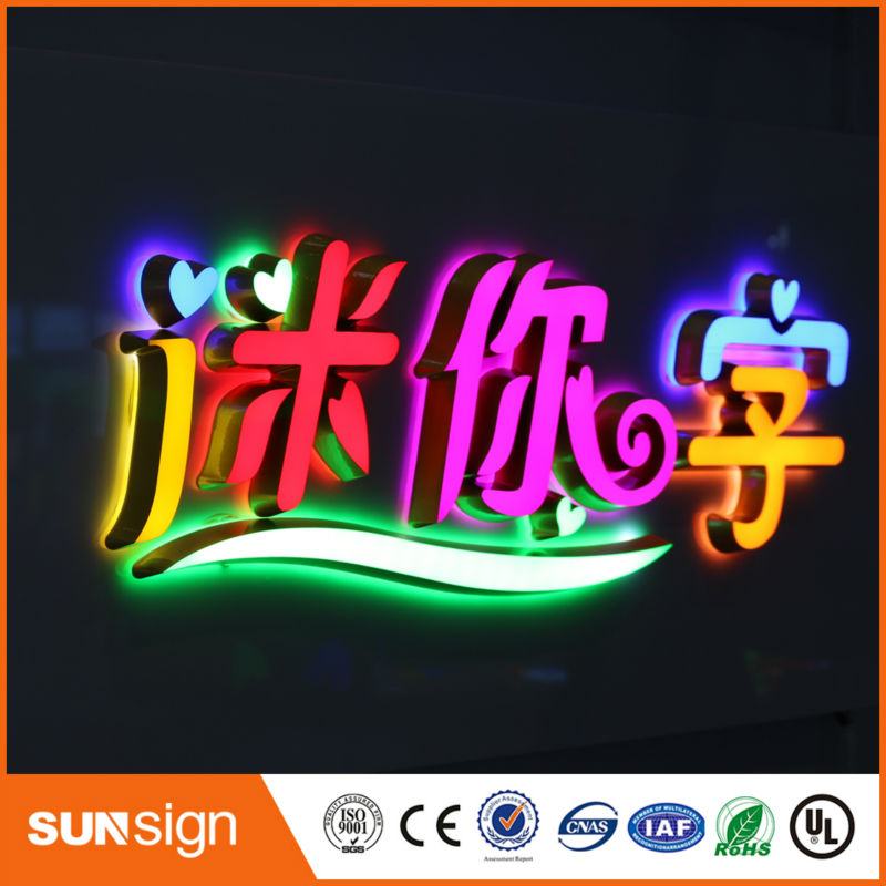 Custom Led Sign High Quality Waterproof Outdoor Advertising Sign Letters