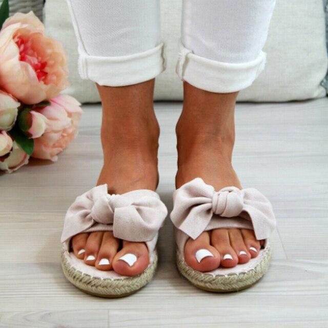 LITTHING Bow Sandals Uncategorised Footwear Women color: Beige|Black|Blue|Leopard|Red