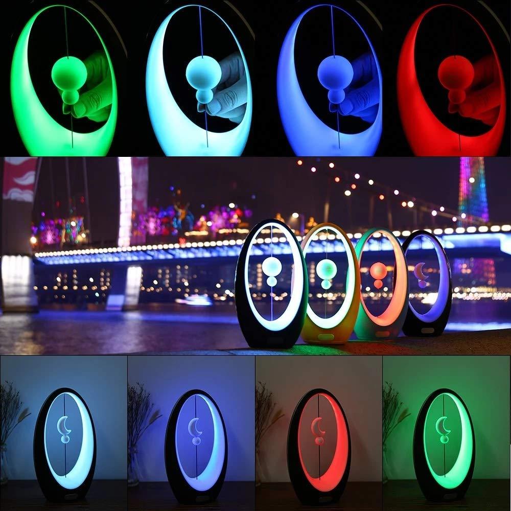 Led Magnetic Levitation Table Lamp Balance Air switch Desk light USB 4 Colors Night lights Bedside Lamps Novelty Home Decoration novelty wooden base night lights table lamps desk bedside lamp for home decor starry led night light lamp for christmas gifts
