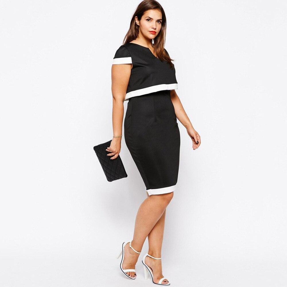 Black dress office - Ladies Black Dress