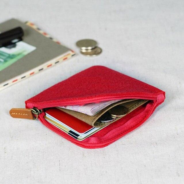 Porte Monnaie Homme Tissu Rouge Pas Cher 1