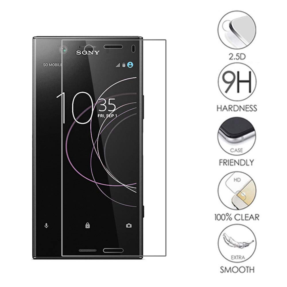 9H Tempered Glass For SONY Xperia X XC XZ1 XZ2 Compact L1 L2 L3 Screen Protector For SONY XZ XZ2 Premium Protective Film Glass(China)