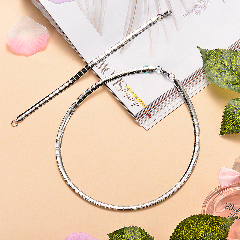 Joyas de Acero Inoxidable Woman kirurški nakit setovi u Kini Zlatni - Modni nakit - Foto 6