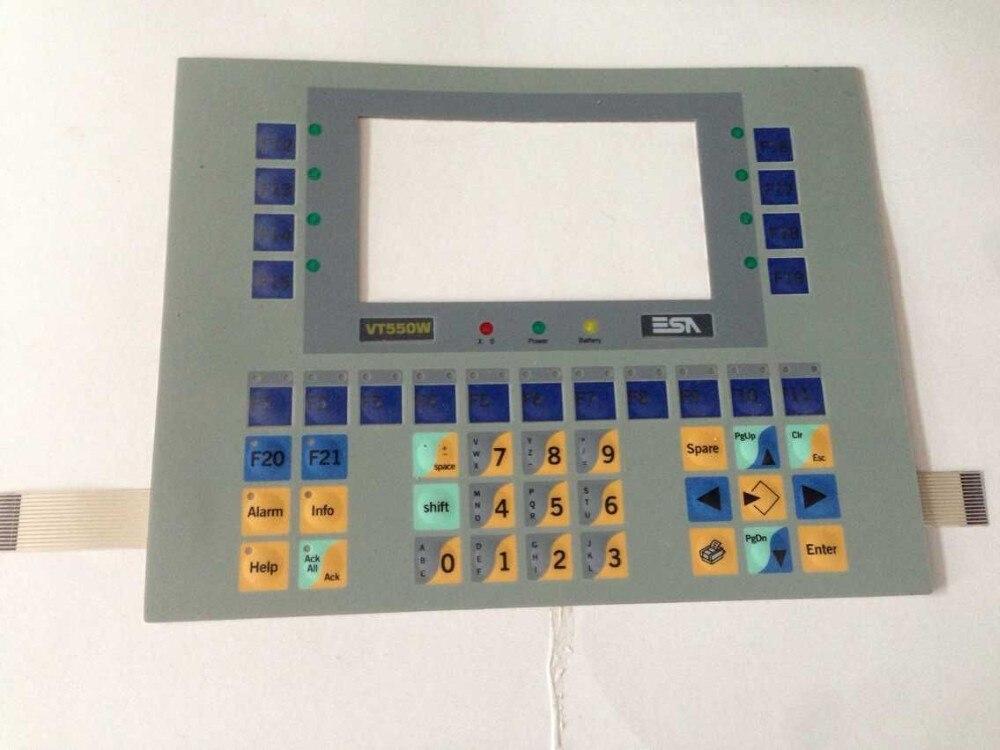 NEW VT550 VT550W VT 550 VT 550W VT55000P0 VT 55000P0 HMI PLC Membrane Switch keypad keyboard panel, in stock цена 2017