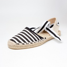 2017 strap fisherman shoes sandals female new flat spring rope Europe Summer fringe Korean Students