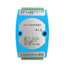 8 дорожные изоляционные K термопары PT100 термо сопротивление передачи RS485 передатчик Модуль сбора температуры MODBUS RTU