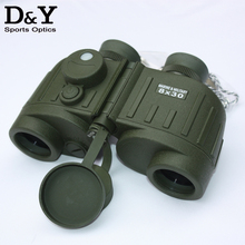 Military Binoculars 8X30 General Tactical Binoculars Rangefinder Compass binocular  telescope DYB024    with Night vision DH087