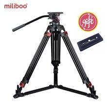 Miliboo MTT609A Профессиональный сверхмощный гидравлический головой мяч Камера штатив для видеокамеры/DSLR стенд видео штатив нагрузка 15 кг макс!