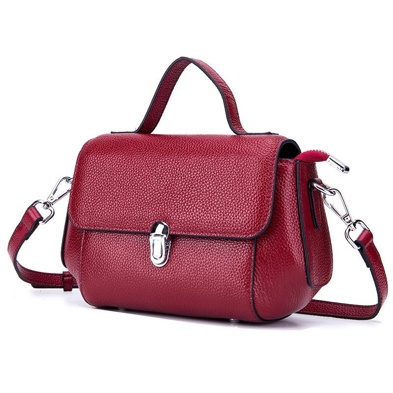 Women's Real Leather Bags Mini Tasjes Dames Small Shoulder Bag Holder Sling Mobile Phone Messenger Crossbody Bags for Women все цены