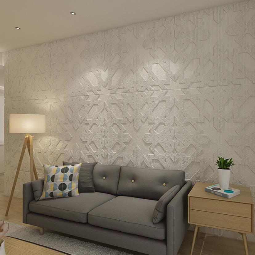 Us 5 72 28 Off 60x60 3d Brick Wall Sticker Self Adhesive Foam Wallpaper Panels Room Decal 2o0510 In Wall Stickers From Home Garden On Aliexpress