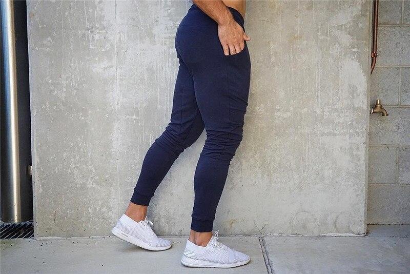 HTB1Bn1gaoT1gK0jSZFhq6yAtVXaO Fashion Mens Joggers Pants Skinny Casual Trousers Pants Top Quality Men Sweatpants