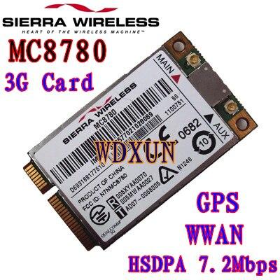 Unlocked Sierra MC8780 HSDPA 3G WWAN 7.2Mbps Module HSUPA HSDPA UMTS GPRS EDGE PCI-E 3G Module