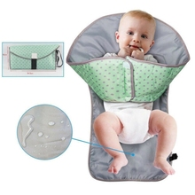 Multifunctional belt Barrier urine pad Baby Foldable Waterproof diaper replacement Cover travel outdoor Soft Travel Pad