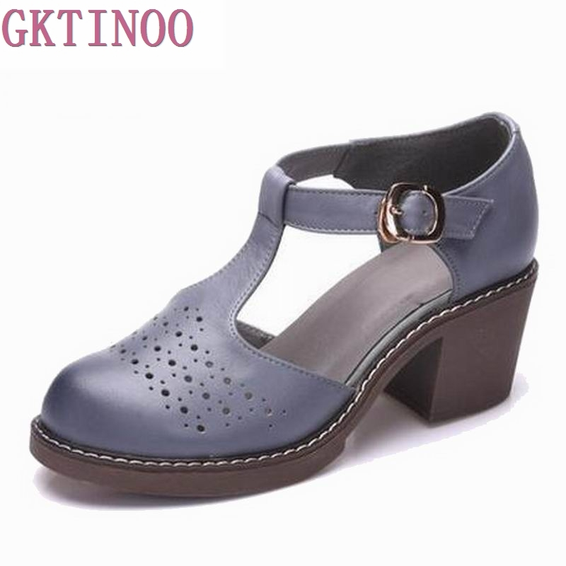 2018 summer sandals female handmade 100% genuine leather women casual comfortable woman shoes sandals women summer shoes T3741 кольцо коюз топаз кольцо т101018021