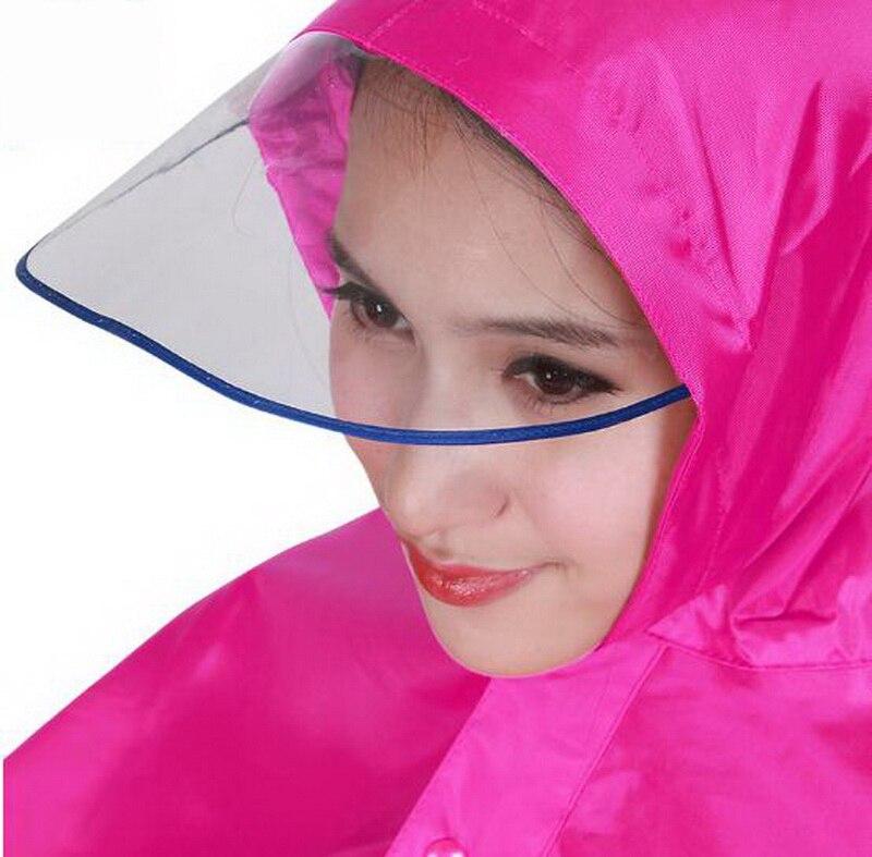 Mountain outdoor cycling adult men/ women raincoat/Big hat waterproof/Comfortable/Windproof poncho /tb161139