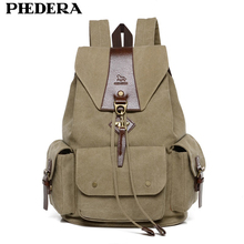 2015 New Casual Men Backpack England Style Vintage Mens Backpacks Korean High Quality Washed Canvas School Bags