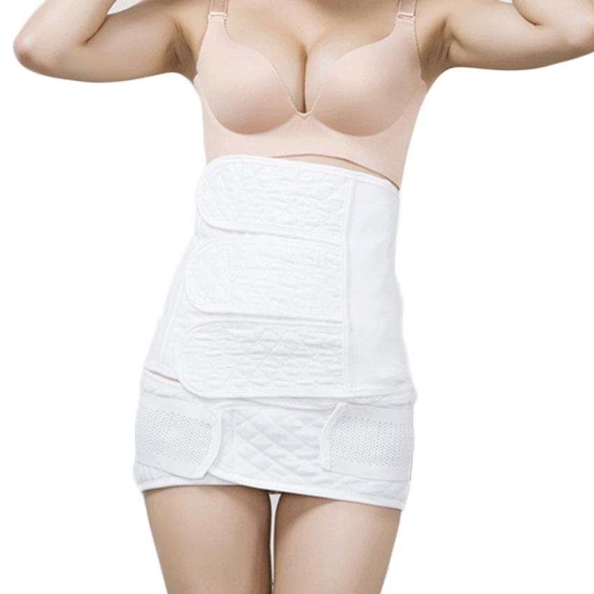 Postpartum Recovery Belly Band C Section Waist Belt Body Shaper Wrap