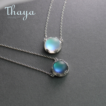 Thaya 55cm Aurora Pendant Necklace Halo ...